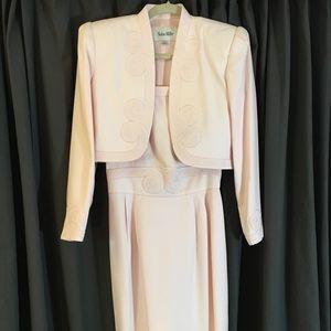 Vintage Nolan Miller dress and jacket!